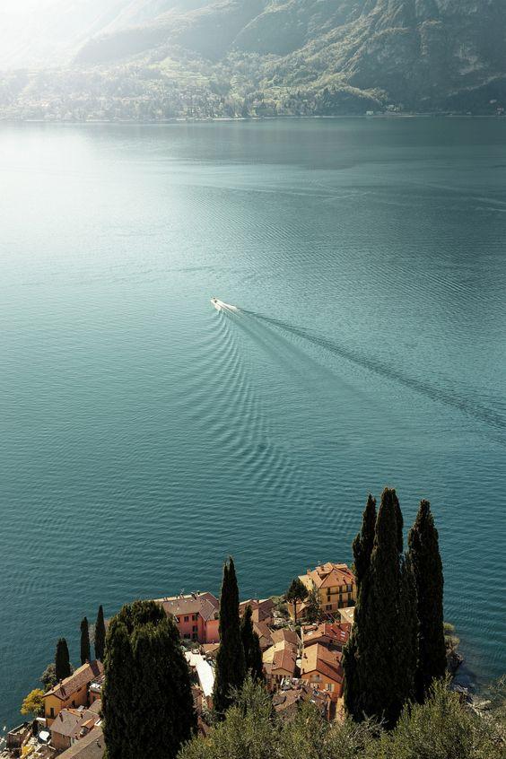 Griante, Lombardie, Italie