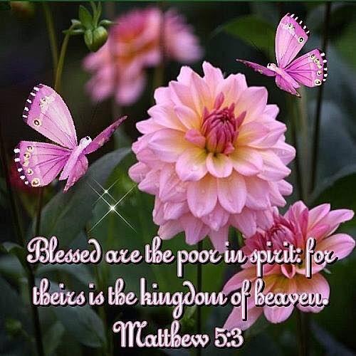 MATTHEW  5:3:
