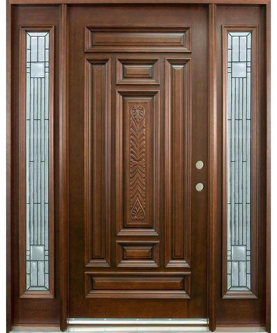 Teak Wood Wooden Main Door Design