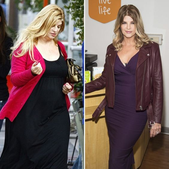 WOW!: Kirstie Alley Shows Off Her 50-Pound Weight Loss — See the Pics!