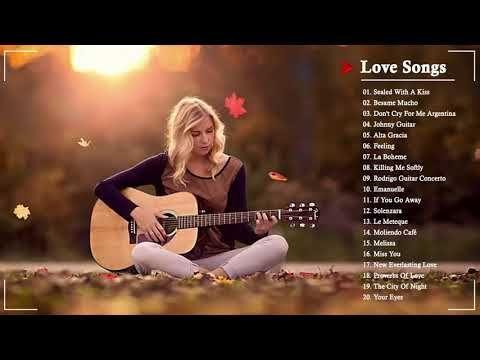 Top 50 Guitar Love Songs Instrumental Soft Relaxing Romantic Guitar Music Youtube En 2020 Baladas Romanticas Baladas