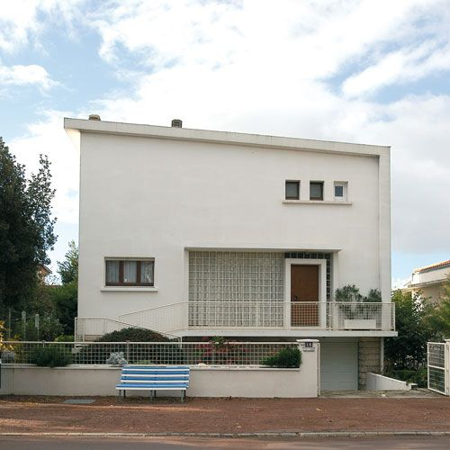 Villa architecture royan 1950 11 royan ann es 50 for Architecture annees 50