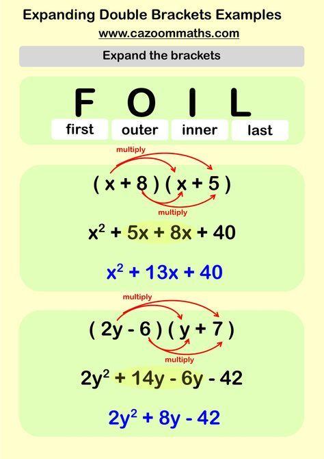 Ks3 And Ks4 Factorising Worksheets Cazoom Maths Worksheets Math Methods Learning Mathematics Teaching Math