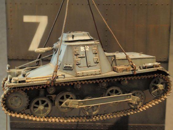 """Norway 1940 : SdKfz 265 Panzerbefehlswagen"" 1/35 scale. By Roger Hurkmans. WW2…"