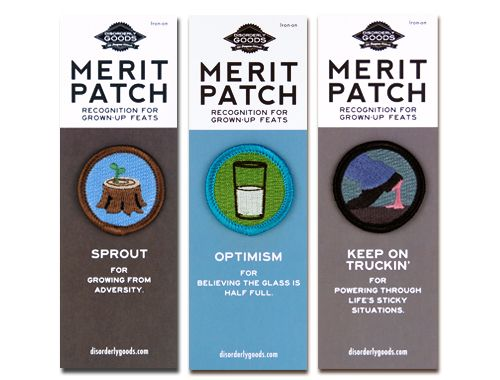 You Can Do It! Merit Badge Set - $17.50