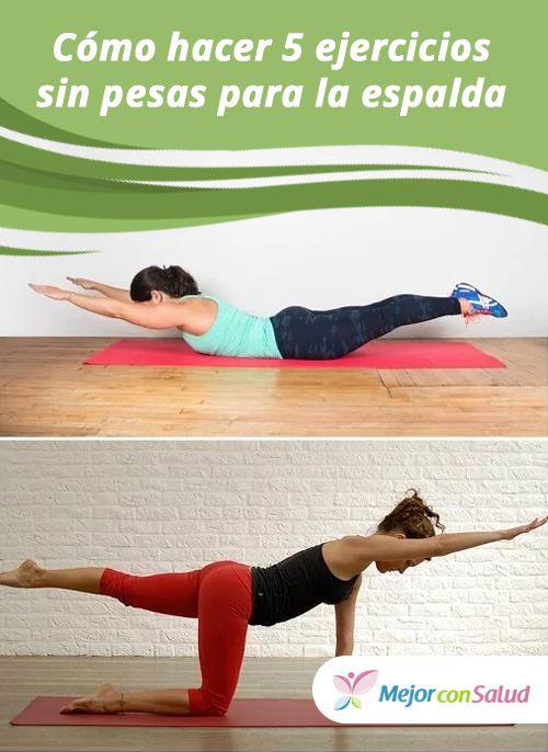 ejercicios en casa sin pesas