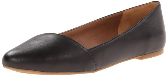Lucky Women's Archh Ballet Flat, Black, 6 M US