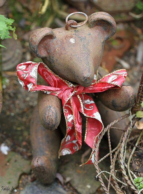 garden teddy
