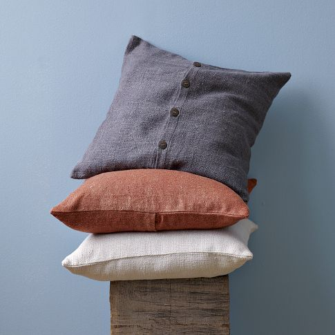 Solid Silk Hand Loomed Pillow Cover ($20-50) - Svpply