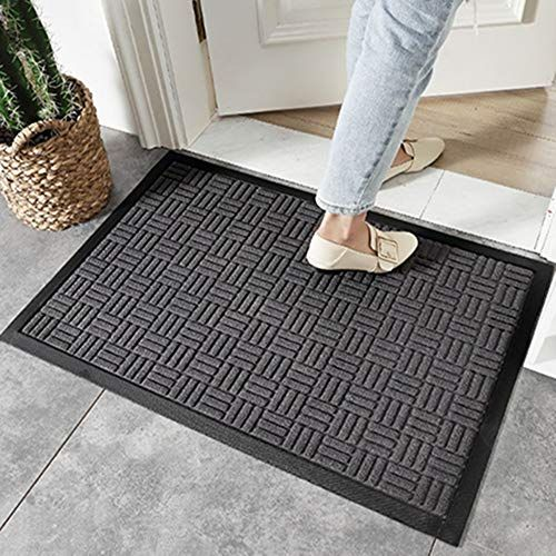 Bwam Hom Indoor Outdoor Doormat Non Slip Waterproof Doormat Outdoor Durable Front Door Mat Indoor Outdoor D In 2020 Outdoor Door Mat Front Door Mats Durable Front Door