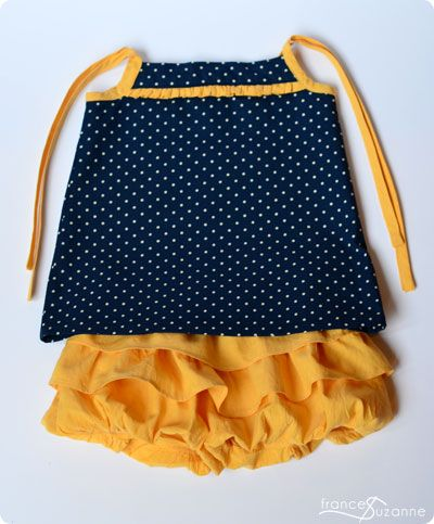 Frances Suzanne | Sewing with Sisters: Bubble Ruffle Shorts {Ruffles 2013 Guest Post: See Kate Sew}
