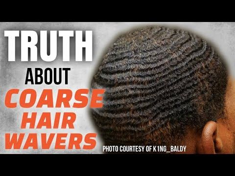 How To Get 360 Waves The Truth About Coarse Hair Wavers Texture Hair Waver Coarse Hair Waves Hairstyle Men
