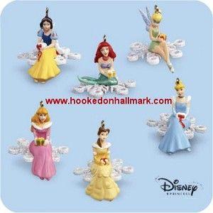 2006 Disney Snowflake Minatures - Princesses