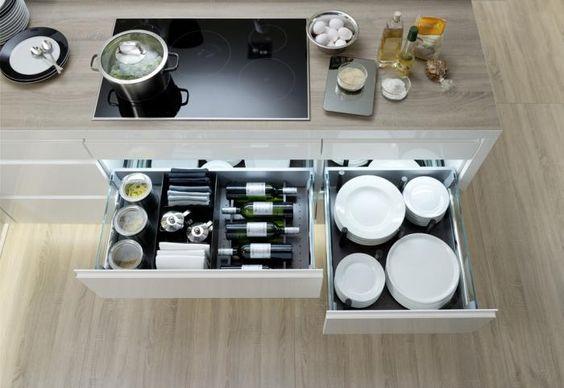 Nolte German Kitchen - Drawer Interior Küche Pinterest - besteckeinsatz für nolte küchen