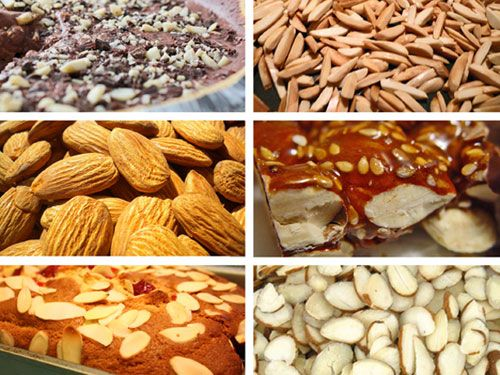 How Do You Like Your Almonds: Slivered, Sliced, or Whole?
