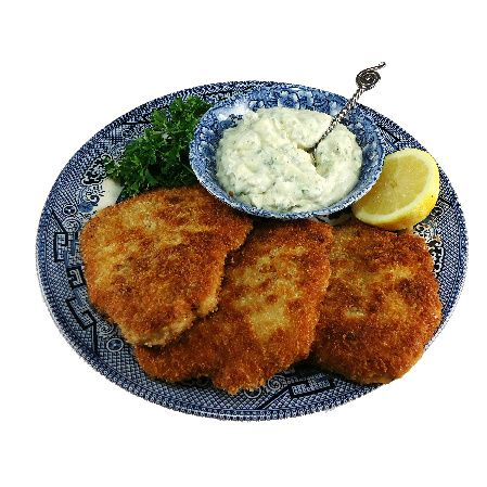 Pork Milanese with Creamy Lemon-Caper Sauce