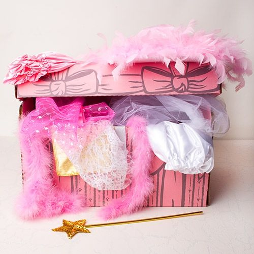 Girl Dress-Up Trunk Filled With Costumes   For Savvy ...