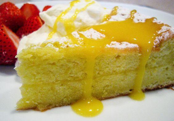 Luscious Lemon Cake Recipe from The Bakers Dozen