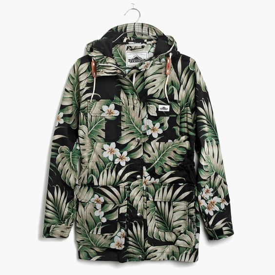Penfield® Vassan Parka Jacket in Black Palm