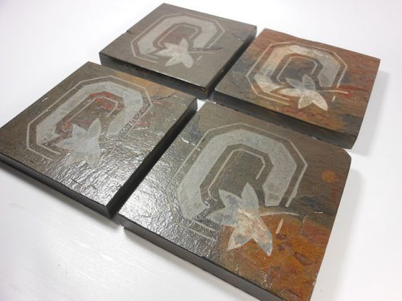 Pinterest the world s catalog of ideas - Slate drink coasters ...