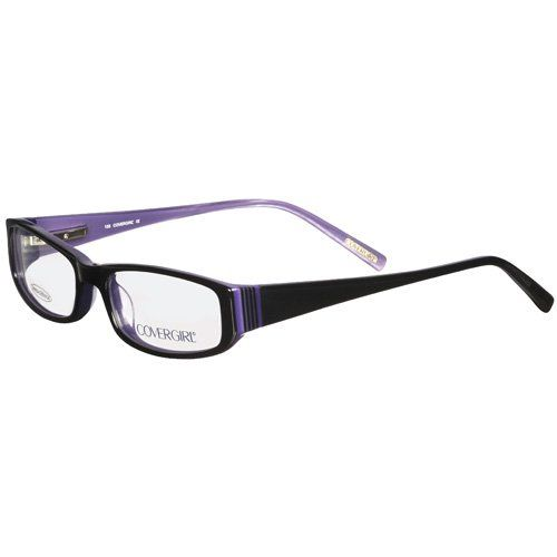 ray ban sunglasses frames walmart  covergirl rx able frames, black: vision : walmart