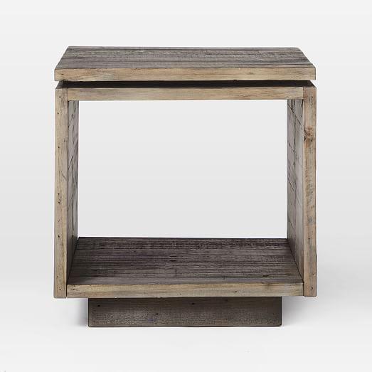 Emmerson Modern Side Table Stone Gray In 2020 Modern Side