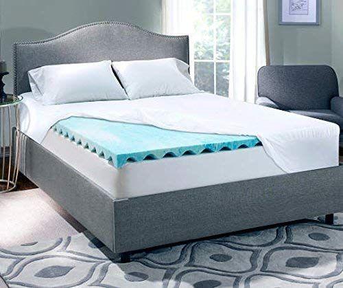 Serta Perfect Sleeper Queen 3 Inch Gel Memory Foam Mattress Topper 60 X 80 X 3 Review Memory Foam