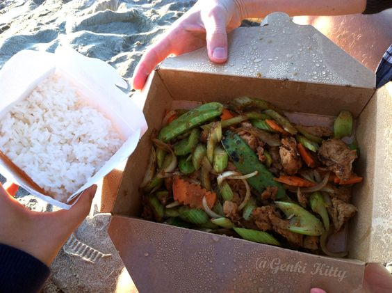 Happy Veggie Lemongrass chicken vegan restaurant review