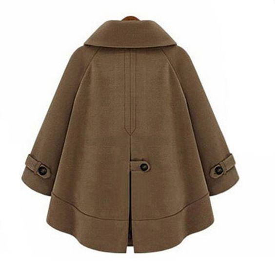 medium long cloak- woolen