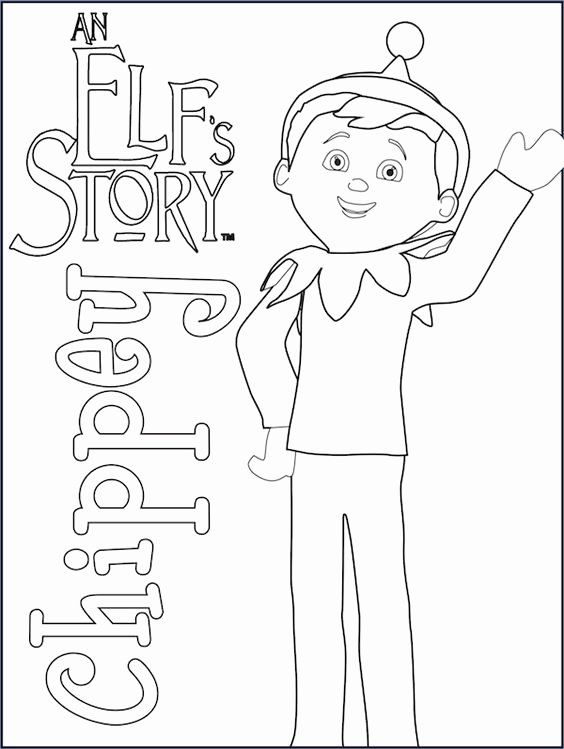 Elf On The Shelf Coloring Page New Elf On The Shelf Coloring Pages In 2020 Christmas Coloring Pages Christmas Colors Coloring Pages