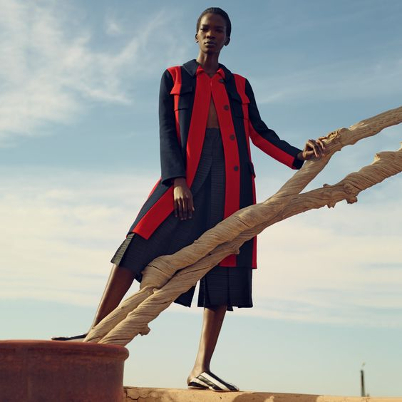 Aamito Lagum by Mel Bles for Porter Magazine Spring 2016