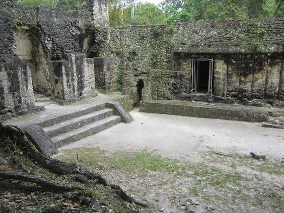 Tikal Pyramids...