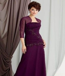 Mother Of The Groom Dresses Eggplant