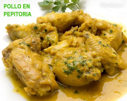 This Domain Was Registered By Youdot Io Pollo En Pepitoria Receta Pollo En Pepitoria Pollo
