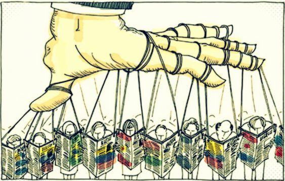 Las terribles 10 estrategias de manipulación masiva, reveladas por Noam Chomsky - EL CLUB DE LOS LIBROS PERDIDOS
