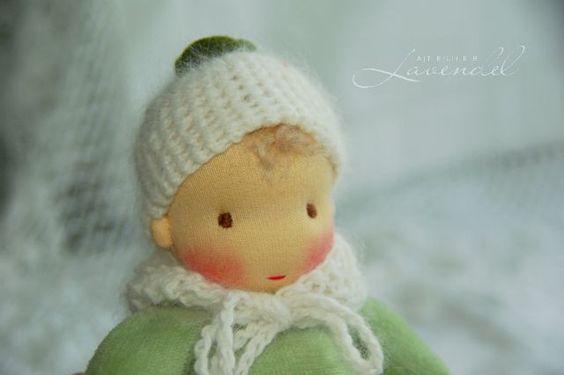 +Schneeglöckchen,+Puppe+Waldorf+Art,+Schmusepuppe+von+Atelier+Lavendel+auf+DaWanda.com