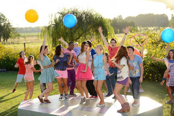 Charaktere der zweiten Staffel « Violetta : Love Music Passion <3