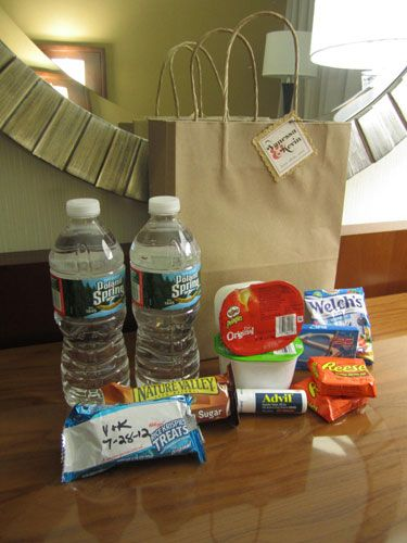 Wedding Hotel Welcome Bag