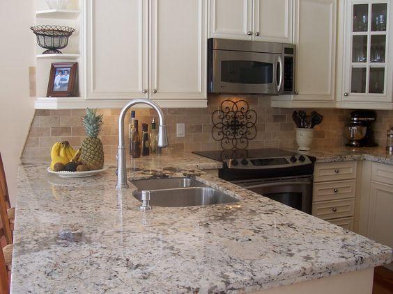 Pearl Granite Countertops Kitchen Pinterest Countertops, Granite ...