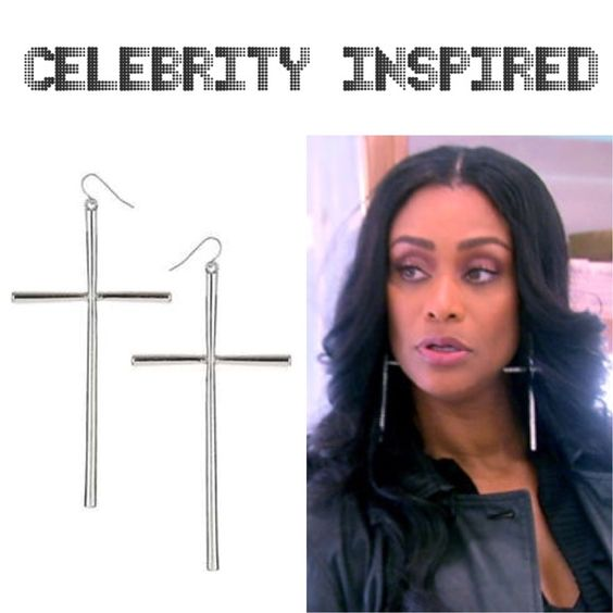 Big Oversized Silver Cross Earrings Earrings are brand new with tag. Bundle 2 or more items and save 10% off total. If you have any questions please feel free to ask. Thanks for looking and stay fab!!! YouBeFab Jewelry Earrings