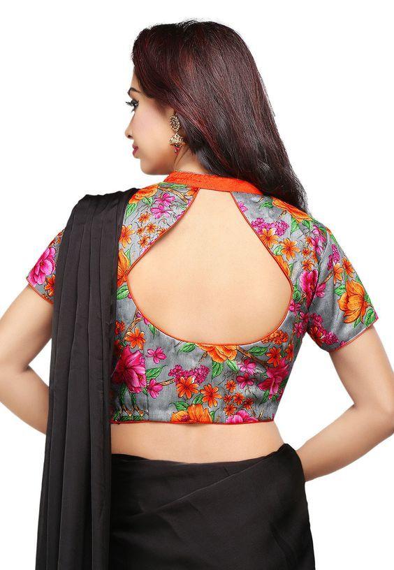20 Stylish And Trendy Saree Blouse Back Neck Designs Fashionshala Trendy Blouse Designs Fashion Blouse Design Blouse Neck Designs