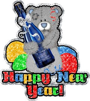 new year glitter graphics, animaged gif images for Orkut, Myspace, Facebook, friendster, hi5