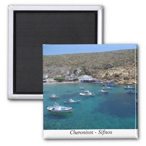 Cheronisos – Sifnos Refrigerator Magnets