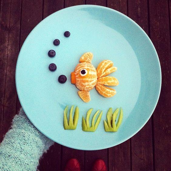 That's just cute!  Instagram Breakfast - Fishing for Compliments by idafrosk  #Breakfast #idafrosk: