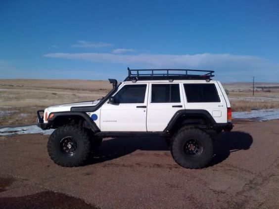 Marvelous Lifted Xj With Roof Rack | What $400 Can Get Ya Off Of Craigslist...    Expedition Portal | 4x4s | Pinterest | Roof Rack, Jeeps And Jeep Stuff