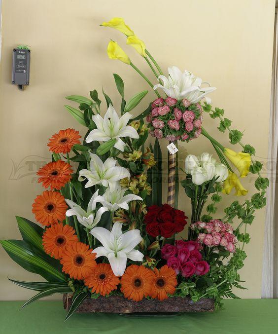florales yca florales floral floreria tropica floral combinado arreglo tropical composiciones florales arreglos florales elegantes