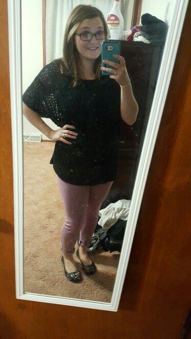 My new purple pants!