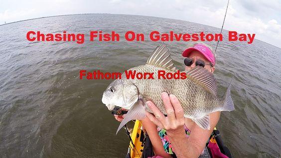 Kayak Fishing: Chasing Fish On Galveston Bay