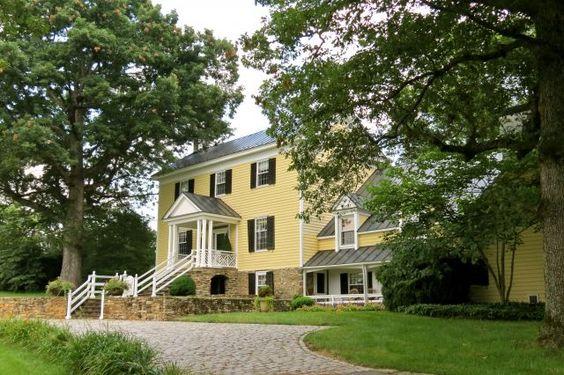 Historic Properties for Sale - MILLWOOD ~ 1836 - Woodville, Virginia: