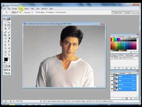 How To Change Background Color In Adobephotoshop 7 0 Youtube Change Background Colorful Backgrounds Background
